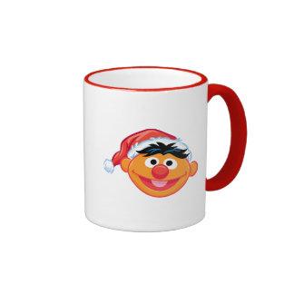Santa Hat Ernie Ringer Mug