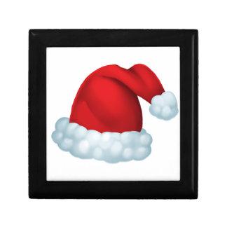Santa hat gift box