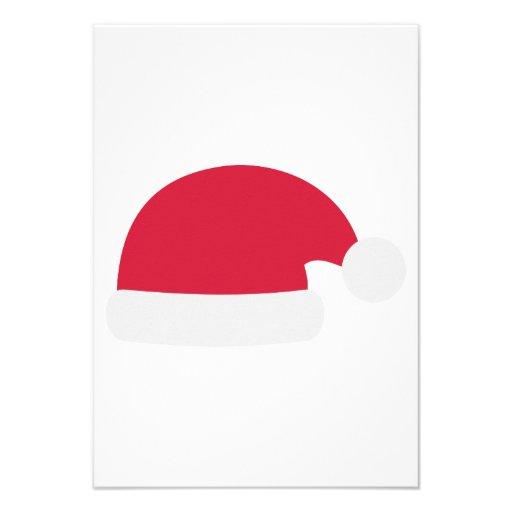 Santa Hat Custom Announcements