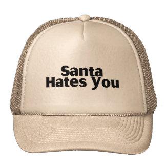 Santa Hates You Mesh Hats