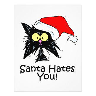 Santa Hates You 21.5 Cm X 28 Cm Flyer