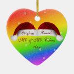 Santa Hats and Rainbows