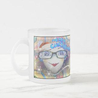 Santa Heart Christmas Mug