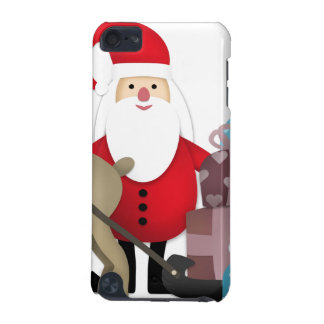 Santa & His Reindeer with Gifts iPod Touch 5G Cover
