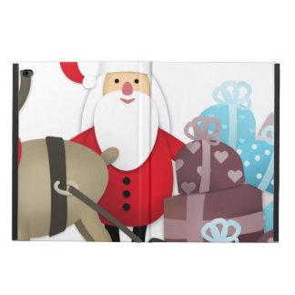 Santa & His Reindeer with Gifts Powis iPad Air 2 Case