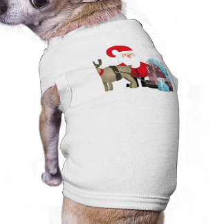 Santa & His Reindeer with Gifts Shirt