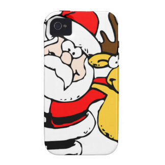 Santa Holiday Christmas Party Destiny Celebration Case-Mate iPhone 4 Cover