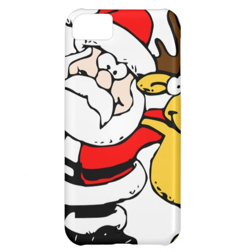 Santa Holiday Christmas Party Destiny Celebration iPhone 5C Covers