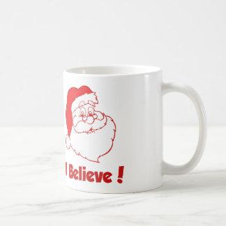 Santa I Believe Christmas Mug