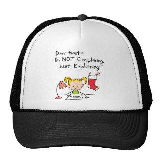 santa_I'm....png Mesh Hats
