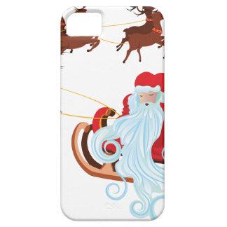 Santa in Sleigh iPhone 5 Covers