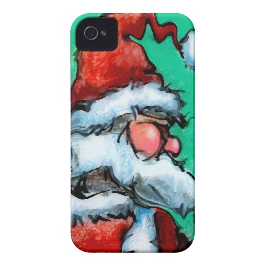Santa iPhone 4 Cover