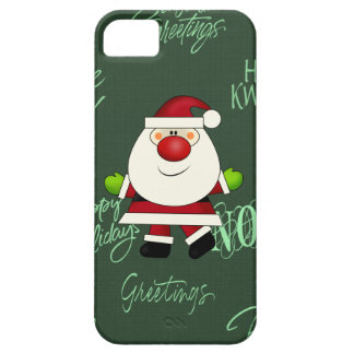 Santa iPhone 5 barely there iPhone 5 Cases