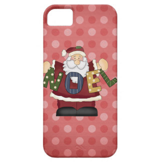 Santa iPhone 5 barely there iPhone 5 Covers