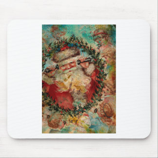 SANTA IS BUSY AT THE NORTH POLE MOUSE PAD
