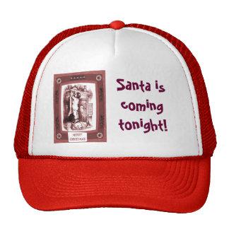 Santa is coming tonight cap