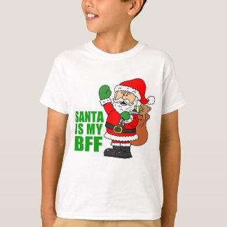 Santa Is My BFF T-Shirt