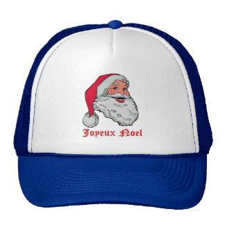 Santa Joyeux Noel Cap