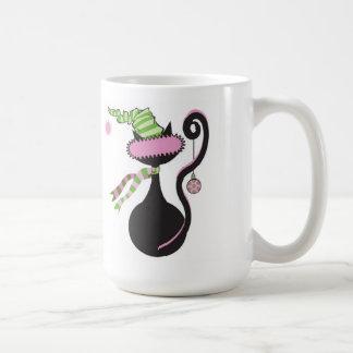 Santa Kitty Mug