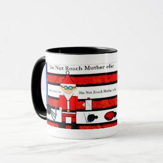 Santa Klaus Die Nut Roach Mug