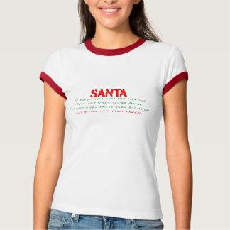 Santa Knows: And It's Kinda Creepy T-Shirt
