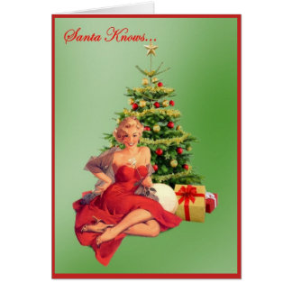 Santa Knows... Card