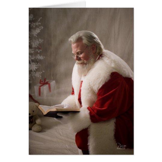 Santa Knows The Reason Card