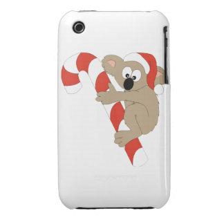 Santa Koala iPhone 3 Case-Mate Case