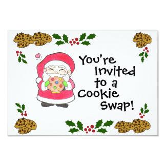 Santa Loves Cookies Invitation