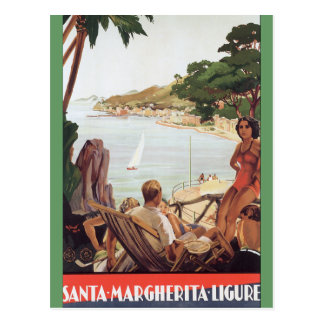 Santa Margherita Ligure Postcard