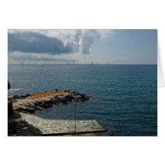 Santa Margherita, Liguria, Italy Card