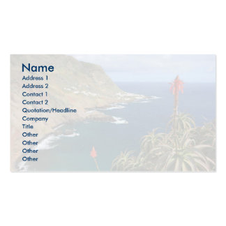 Santa Maria Azores coastal Double-Sided Standard Business Cards (Pack Of 100)