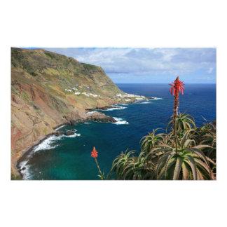 Santa Maria Azores coastal Stationery Paper