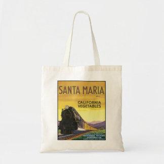 Santa Maria Canvas Bag