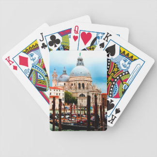 Santa Maria della Salute Bicycle Playing Cards