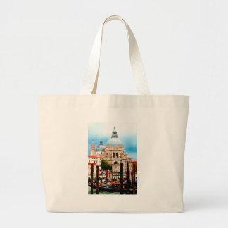 Santa Maria della Salute Large Tote Bag