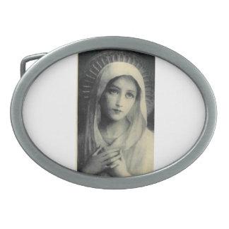 Santa Maria holy Maria Gürtelschnalle Belt Buckle