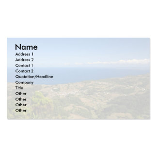 Santa Maria island Pack Of Standard Business Cards