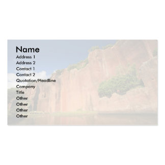 Santa Maria island landscape Double-Sided Standard Business Cards (Pack Of 100)