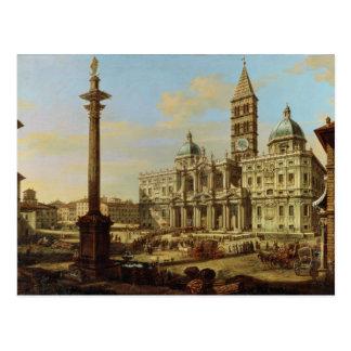 Santa Maria Maggiore, Rome, 1739 Postcard