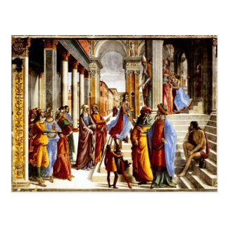 Santa Maria Novella, Presentation of Mary Postcard