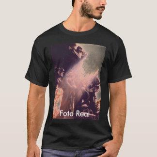Santa maria virgen Maria, Foto Real T-Shirt