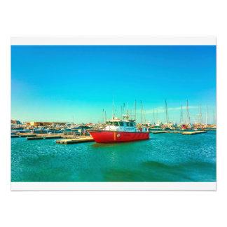 Santa Marta Port Photo Print