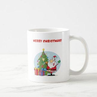 Santa Merry Christmas Mugs