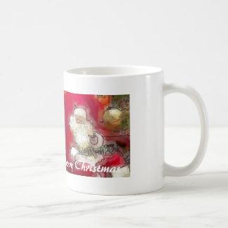 Santa, Merry Christmas Basic White Mug