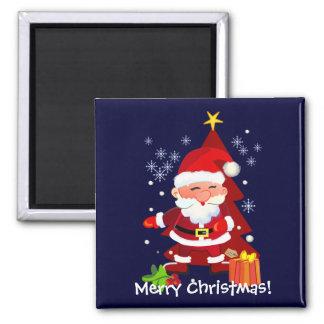Santa Merry Xmas magnet