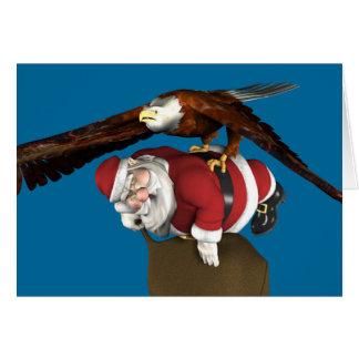 Santa Might Come A Bit Later Card
