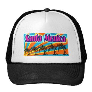 Santa Monica 5 Palm Trees Hat