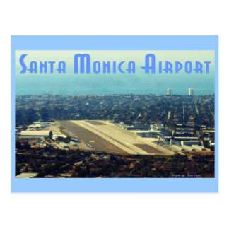 Santa Monica Airport Postcard