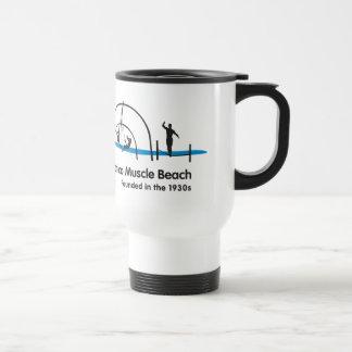 Santa Monica Beach California Travel Mug